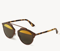 Verspiegelte Sonnenbrille 'So Real' Bronze/Braun