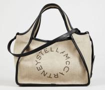 Umhängetasche 'Canvas Crossbody Bag' Desert Beige