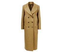Wollmantel 'Mariold Great Coat' Gelb/Grau
