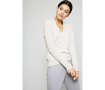 Woll-Cashmere Pullover Grau