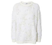Weicher Pullover Weiß