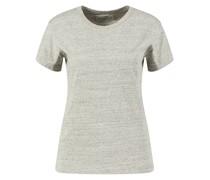 Baumwoll-Seiden-T-Shirt 'Lara' Meliert