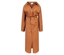 Baumwoll-Nylon-Kleid 'Ayse' mit Knotendetails