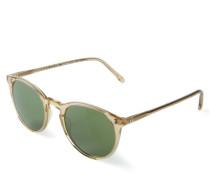 Sonnenbrille 'The Row' Beige/Grün