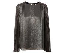 Bluse mit Plisee-Details Multi Rosé