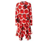 Print-Kleid 'Rita' Rot/Multi