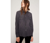 Jeanshemd 'Western Shirt' Schwarz