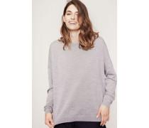 Klassischer Pullover 'Karel Merino' Silver Grey