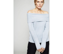 Off-Shoulder-Cashmere Pullover 'Gigi' Dust
