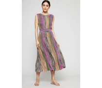 Gestreiftes Kleid Multi