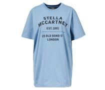 Statement T-Shirt Blau