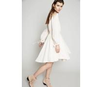Kleid mit Schleifen Milk