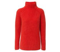 Rollkragen-Pullover 'Annie' Rot