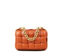 Handtasche 'The Chain Cassette' Cognac