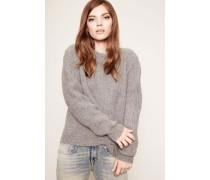 Wollpullover 'Vicki' Grey Melange