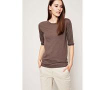 Cahmere-Shirt 'Lynn' Taupe