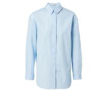 Oversize-Bluse 'Bela Dry Pop' Blau