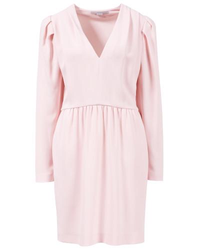 Klassisches Midi-Kleid Rosé