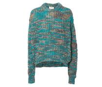 Lässiger Pullover 'Zora' Türkis Multi