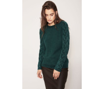 Cashmere-Pullover 'Sally' Smaragd