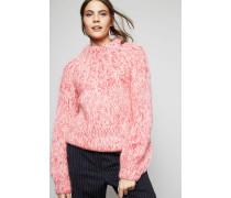 Handgestrickter Pullover 'The Juilard Mohair' Sea Pink