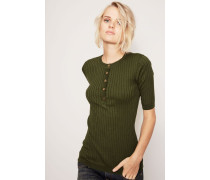 Kurzarm-Pullover 'Luisa' Grün