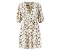 Mini-Kleid mit floralem Print Multi