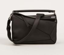 Handtasche 'Puzzle Bag Medium' Schwarz