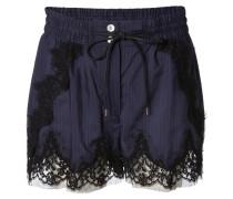 Shorts 'Stripe Print' Navy/Black