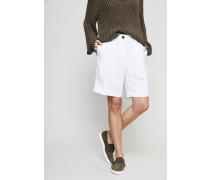 Leinen-Shorts 'Romee' Bianco