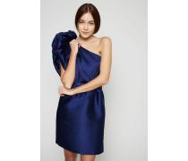Asymmetrisches Abendkleid Blau