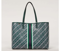 Shopper 'Gemini Link Tote' Green Multi