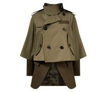 Trenchcoat im Layering-Look Khaki