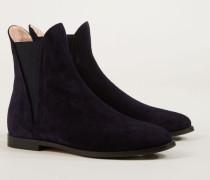 Chelsea Boot 'Tronchetto Donna' Marineblau