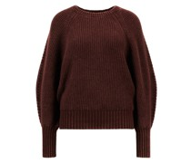 Oversized Cashmere-Pullover 'Gill' Bordeaux