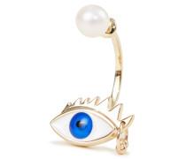Ohrring 'Eye Piercing' /Blau