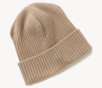 Woll-Mütze Camel