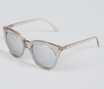 Sonnenbrille 'Halfmoon Magic' Stone/Silver