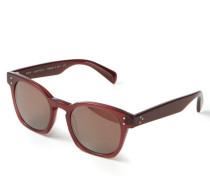 Verspiegelte Sonnenbrille 'Byredo' Bordeaux