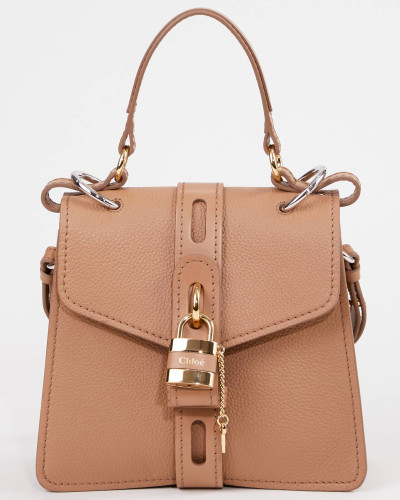 Handtasche 'Aby Small' Cement Brown