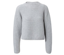 Cashmere Pullover 'Adele' Silber