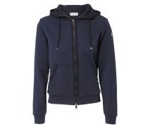 Baumwoll-Sweater 'Maglia' Dunkelblau