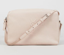 Crossbody Tasche 'Lou Camera Bag' Nude - Leder