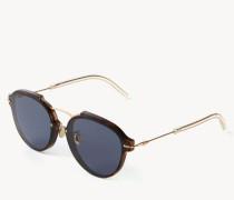 Sonnenbrille 'Eclat' Havanna/Gold