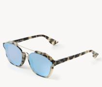 Verspiegelte Sonnenbrille 'Abstract' Havanna Hell