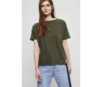 Oversize T-Shirt Khakigrün