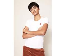 T-Shirt 'Uma' Weiß