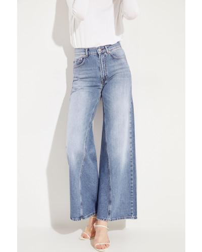 Jeans 'Classic Denim' mit Schlag Blau