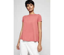 Woll-Cashmere Pullover Kurzarm Fragola