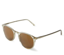 Sonnenbrille 'The Row' Beige/Braun